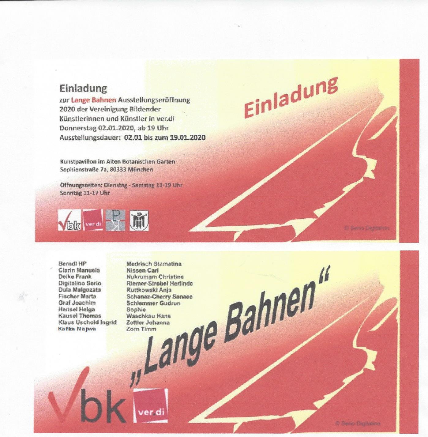 VBK Kunstpavillion im alten botanischen Garten München 2020