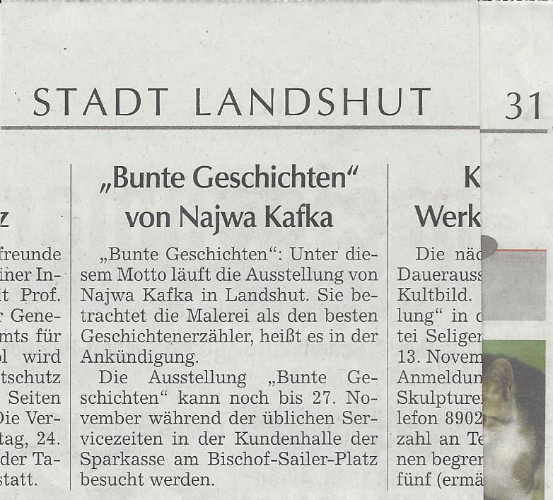Landshuter Zeitung 2015