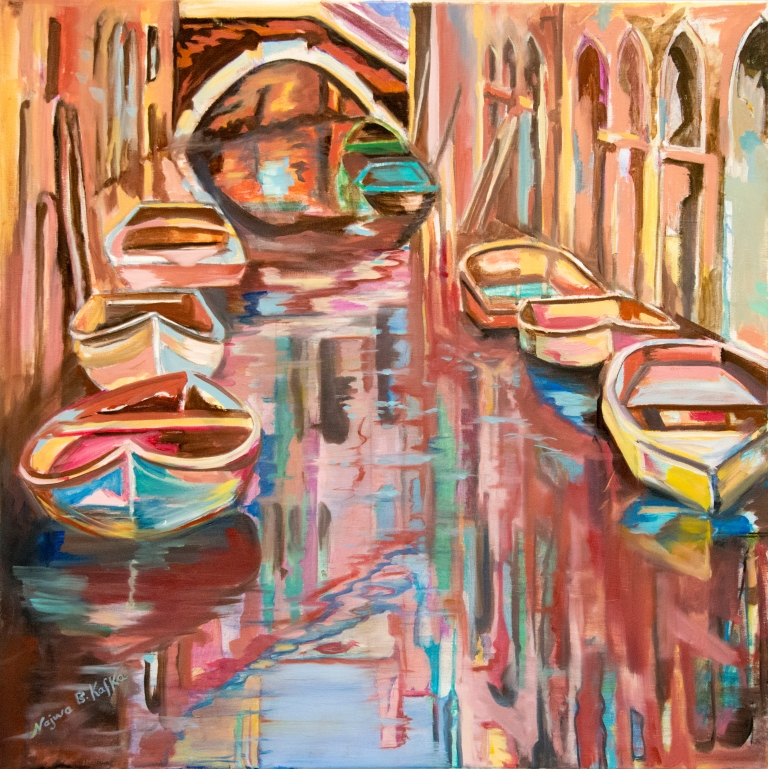 Venedig (80X80, oil/canvas)