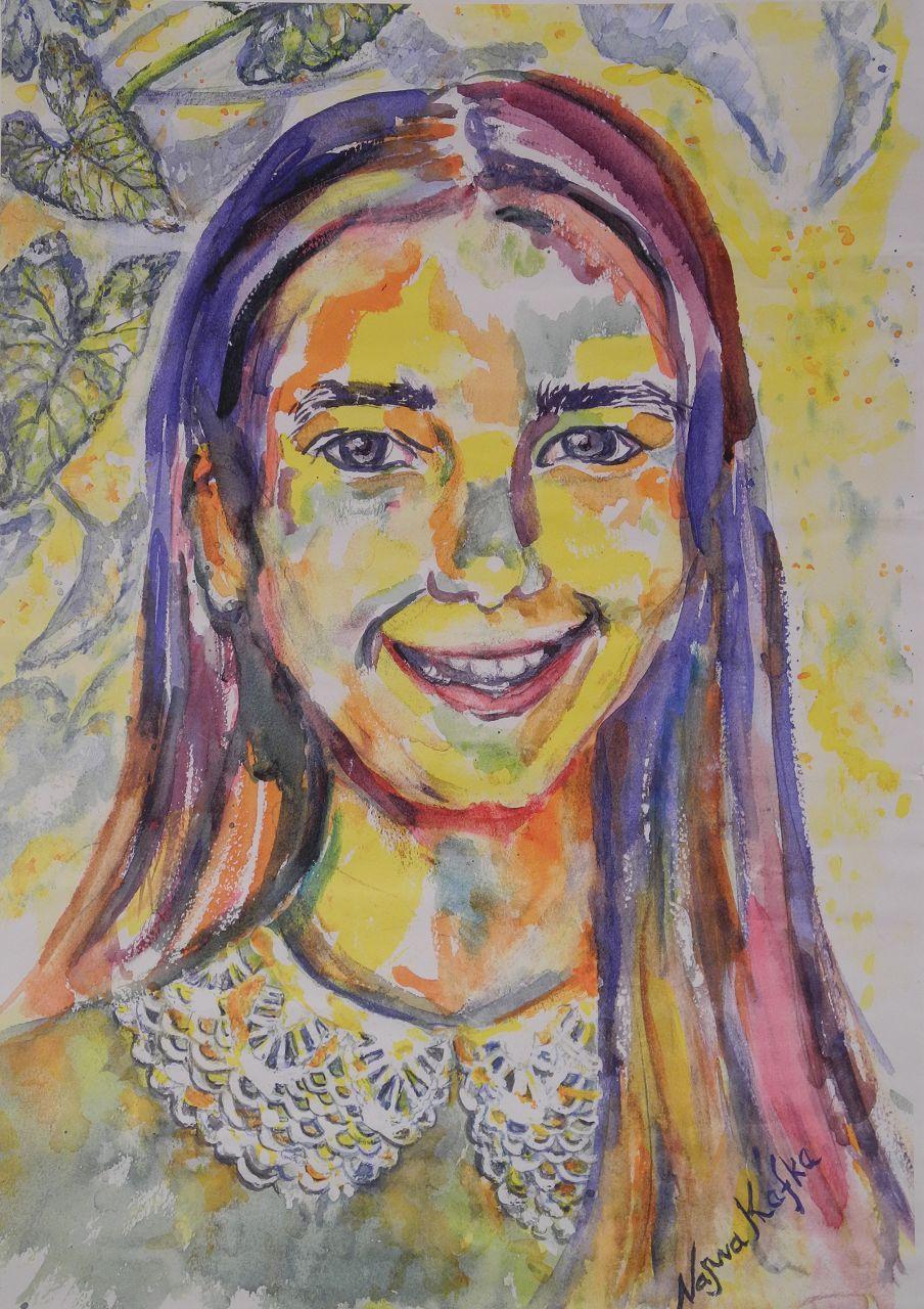 (watercolor/paper)